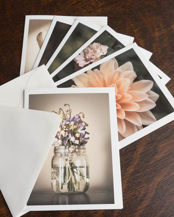 note cards volume 2, fanned out